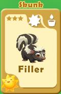 Filler Skunk A