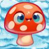 Mushroom on snow