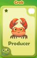 Producer Crab