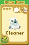 Cleaner Polar Bear A