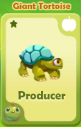 Producer Giant Tortoise