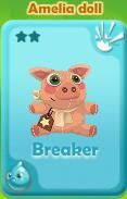 Breaker Amelia Doll