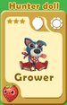 Grower Hunter Doll A