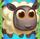 White sheep on bridge