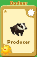 Producer Badger A