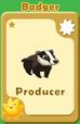 Producer Badger A