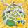 Apple under cobweb on hay 6x