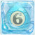 Water bomb 6 under ice