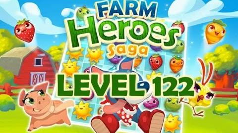 Farm Heroes Saga Level 122