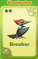 Breaker Woodpecker