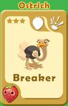 Breaker Ostrich A