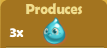 Produces 3x Water Drops