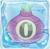 Onion bomb 0 under ice