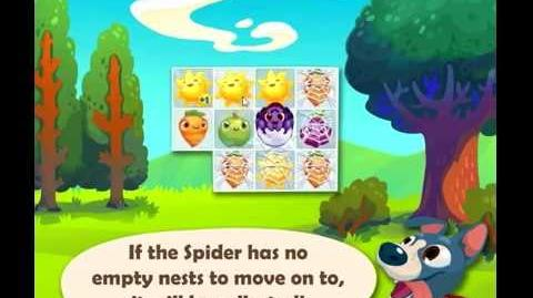 Official Farm Heroes Saga - The Spider