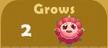 Grows 2x A