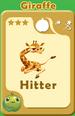Hitter Giraffe A