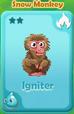 Igniter Snow Monkey