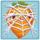 Carrot under cobweb
