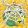 Apple under cobweb on hay 1x