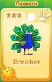Breaker Peacock