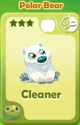 Cleaner Polar Bear