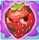 Strawberry grumpy on slime