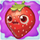 Strawberry on slime