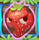 Strawberry grumpy on bridge