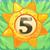 Sun bomb 5 on grass