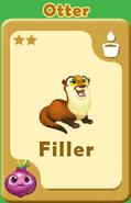 Filler Otter A
