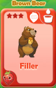 Filler Brown Bear