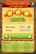 Hard Level 1300