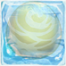 Alligator egg 1-stage under ice