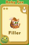 Filler Baby Fox A