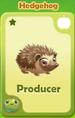 Producer Hedgehog