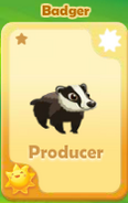 Producer Badger