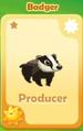 Producer Badger