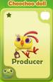 Producer Choochoo Doll
