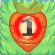 Carrot bomb 1 on grass
