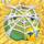 Apple under cobweb on hay 7x