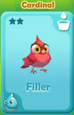 Filler Cardinal