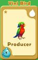 Producer Vini Bird A