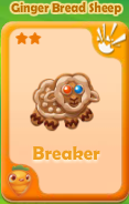 Breaker Ginger Bread Sheep