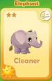 Cleaner Elephant
