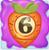 Carrot bomb 6 on slime