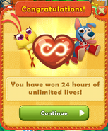 24 hours of unlimited lives (IL)