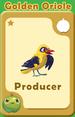 Producer Golden Oriole A