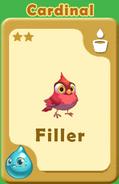 Filler Cardinal A