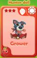 Grower Hunter Doll