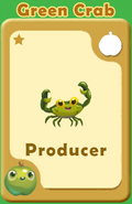 Producer Green Crab A